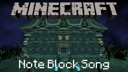 Minecraft Note Block Song: Luigi's Mansion: Library Minecraft Map & Project
