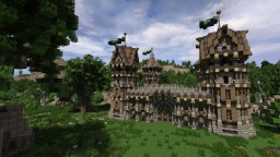 Medieval Fort - Build your own Fort Minecraft Project