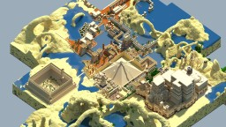 The Egyptian City of Nebet Minecraft Project