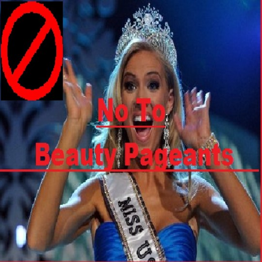 Beauty Pageants should be banned