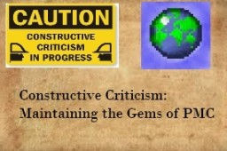 Constructive Criticism: Maintaining the Gems of PMC (Back to Basics II) Minecraft Blog