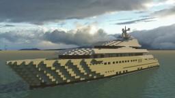 Pelorus - Superyacht [1:1 Scale] (WIP) Minecraft