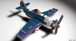 Lego Plane Minecraft Map & Project