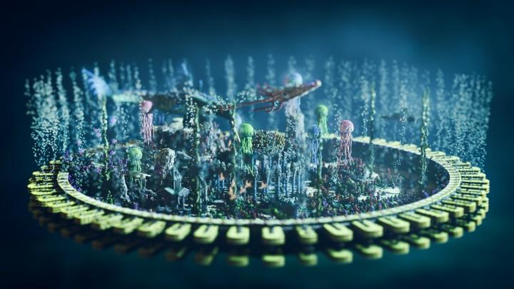 Minecraft Atlantis Build