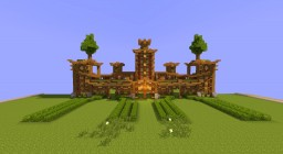 Chinease Oriental Temple Minecraft Map & Project