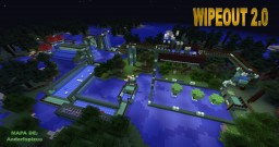 WIPEOUT 2.0 Minecraft Map & Project