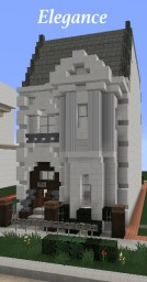Traditional: Elegance Townhouse Minecraft