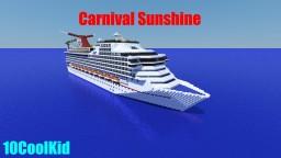 Carnival Sunshine [1:1 Scale] + [Full Interior] [1.7] Minecraft