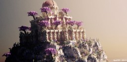 Golden Sun Palace Minecraft Map & Project