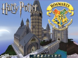 HOGWART'S SCHOOL OF WITCHCRAFT & WIZARDRY (1x1 scale) Minecraft Map & Project