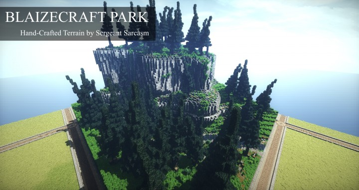 Image result for Highly detailed minecraft terrain