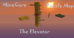 MineCore Team The Elevator Puzzle map Minecraft Map & Project