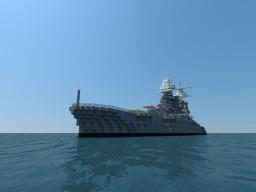 USS Battleship BB-39 Arizona Minecraft Project