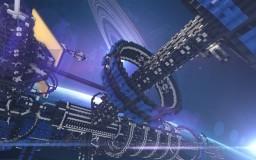 [Phobie & 4B TEAM _Project SpaceStation] MineCraft build Minecraft Map & Project