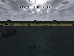 D-Day beach landing (Based off Saving Private Ryan) Minecraft Map & Project