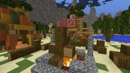 Abidim Tribe - Tiki Camp Minecraft Project