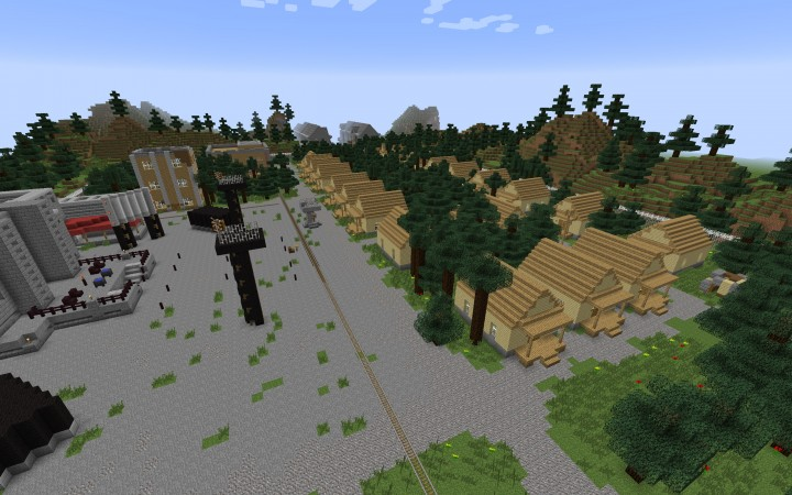 District 12 Residential Area