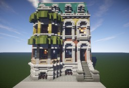 town house Minecraft Project