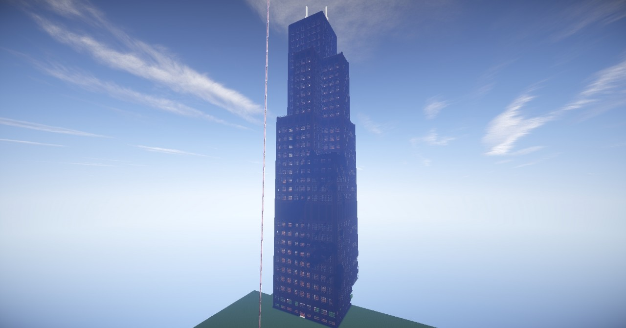 Minecraft Hochhaus Sears Tower Minecraft Project - Hauser in minecraft einfugen