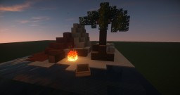 Creative Plot 1: Desert Island Minecraft Map & Project