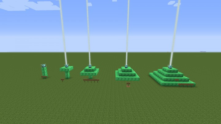 how to make a beacon in minecraft creative