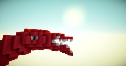 Red dinosaur Minecraft Project