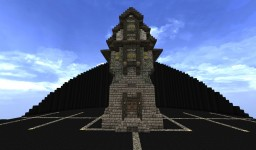 Tall House Minecraft Map & Project