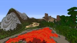 PYRAMIDS ON AN ISLAND Minecraft Map & Project