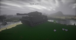 Tiger Ausf. I Minecraft Map & Project