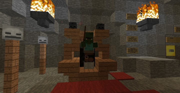 Part of the room you first spawn in