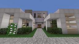 Modern House 2 - Finally Done! Minecraft Map & Project