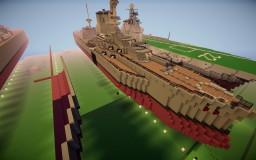 HMS Canada (Battle of Jutland 1916) Minecraft Map & Project