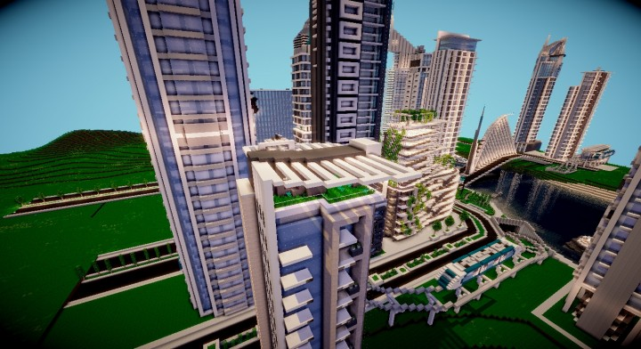Greenwich Apartments Minecraft Project