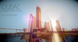 Dubai Inspiration Minecraft Map & Project