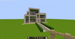 Modern House #1 Sauder Manor Minecraft Map & Project