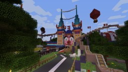 Lunapark Adventure 3 - Biggest Theme Park in Minecraft Minecraft Project