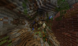 Medieval Cave Hub for RambleGames | Built by Valgonir Minecraft Map & Project