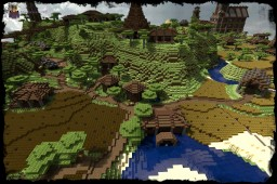 A Watermill And Two Silos In Mejis [DOWNLOAD] Minecraft Project