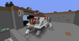 Star Wars Galactic Repulic AT-TE Minecraft Map & Project
