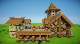 Barracks Minecraft