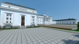 The Belweder Palace; Polish Palace [Aliquam] Minecraft Project