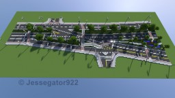 Strange Intersection in Gainesville, Florida [+Schematic] Minecraft Map & Project