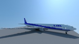 Boeing 777-300ER All Nippon Airways (ANA) Minecraft Map & Project