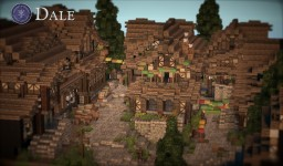The Hobbit - Dale Minecraft Map & Project
