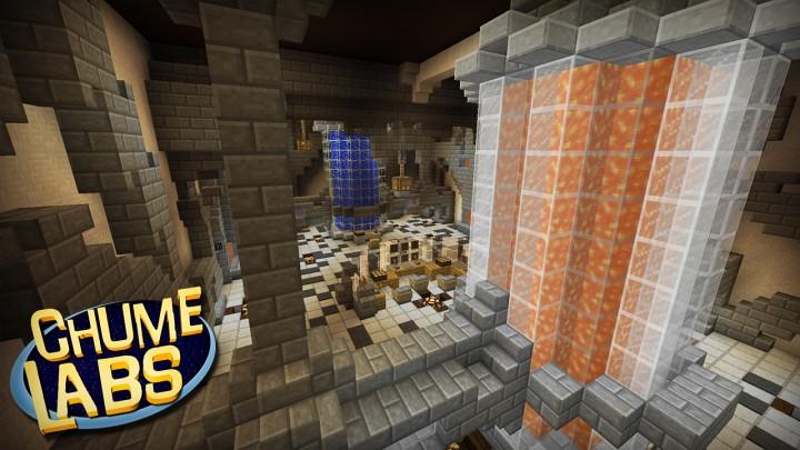 TazerCraft Chume Labs Mapa Download Minecraft Project - Skins para minecraft pe cientista