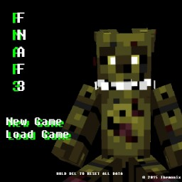 Fazbear's Fright: The Horror Attraction Minecraft