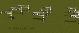 US Railroad Crossing Signals | Realistic [+Schematic] Minecraft Project