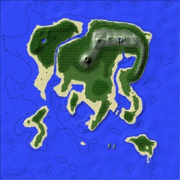 Island Survive/Build Download Minecraft Map & Project