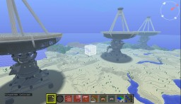 2 telescopes, an optical system and a radio telescope. Inspired by E-ELT, OWL and VLA. Minecraft Map & Project