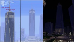 ONE World Trade Center | Capital City PS4 Minecraft Map & Project